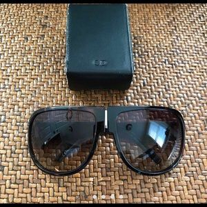 Dior Collapsible Aviator Sunglasses